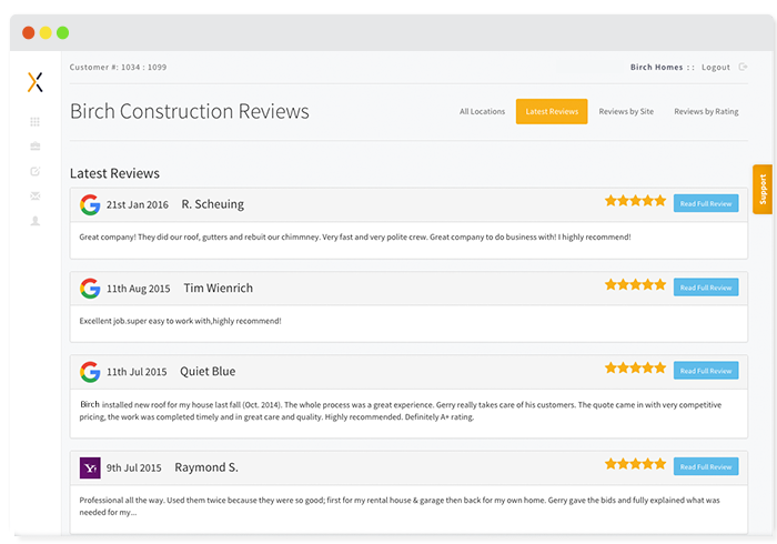 Small Business Reputation Monitoring Reviews
