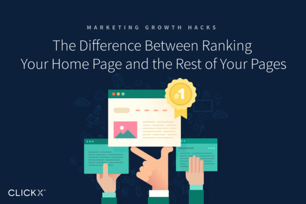 The Difference Between Ranking Your Home Page and the Rest of Your Pages